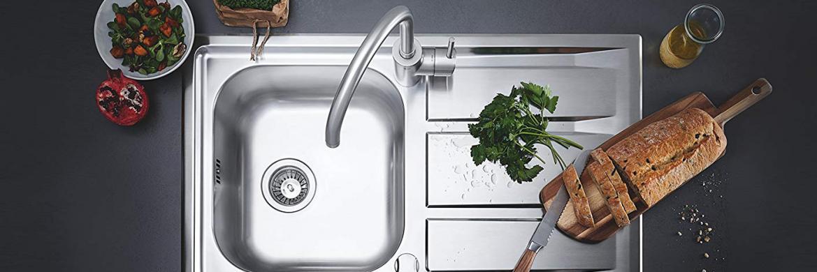 Смесители и мойки для кухни